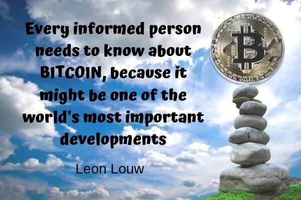 interesting Bitcoin quotes
