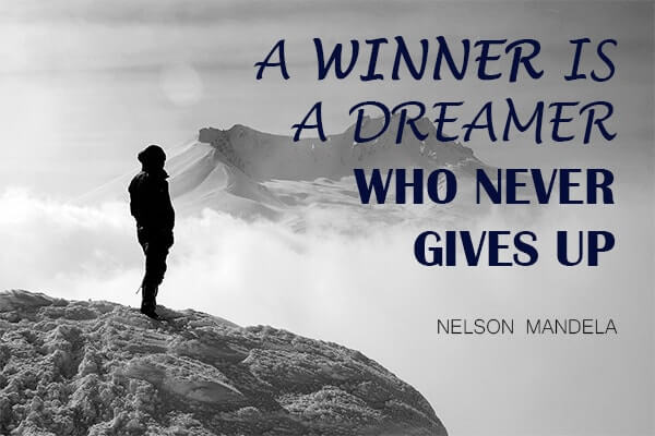 Motivational and Mindset Quote Nelson Mandela