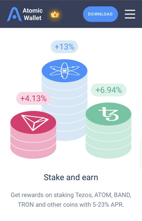 defi wallet review staking